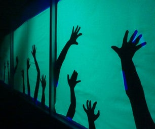 Undead Hand Silhouettes - Haunted House