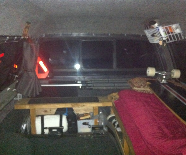 Solar Powered Lighting in Your Camper Shell