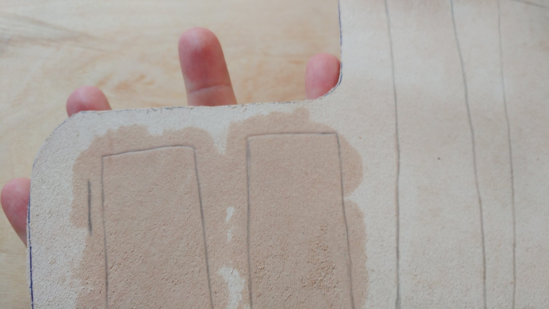 Aguamenti! - Wet Molding the Leather
