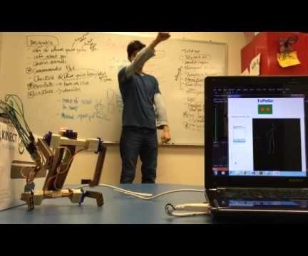 Kinect-Based Mimicry Robot