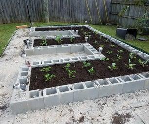 Build a Concrete Block Garden for Food and Memories