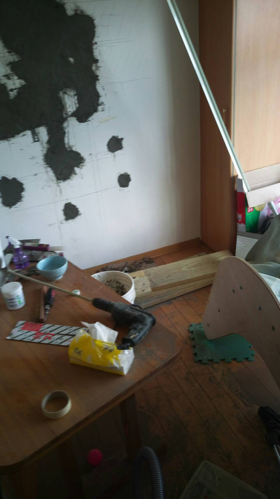 Fixing the Mould Wall