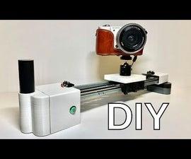 DIY Camera Slider (Motorized)
