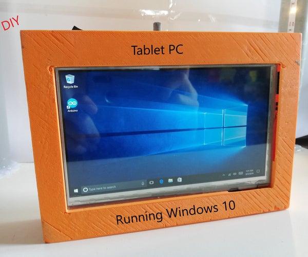 DIY Windows 10 Tablet PC