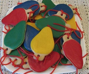 Christmas Light Bulb Cookies