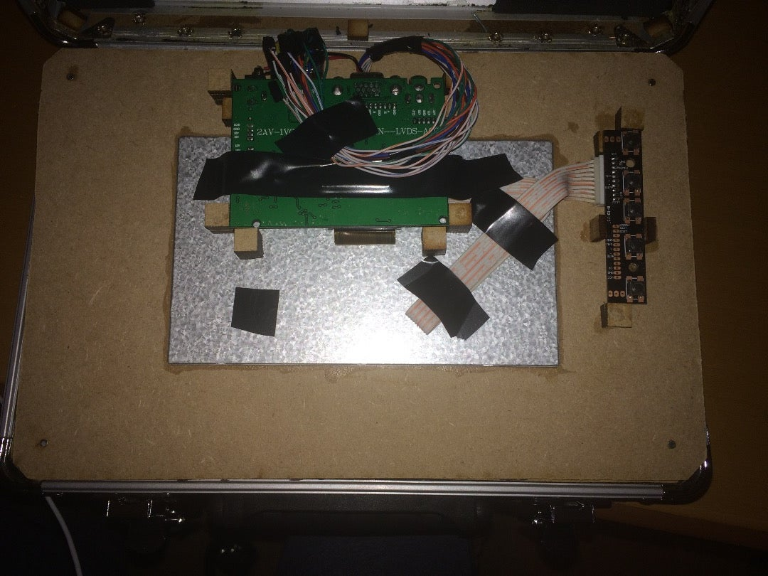 Installing the Lcd Controller Board