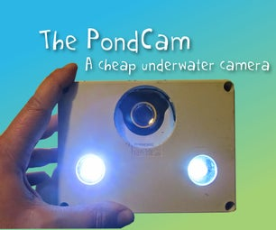 The PondCam. a Cheap Underwater Camera