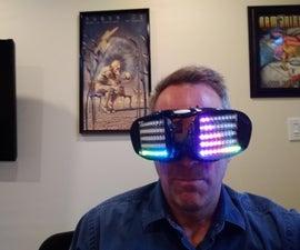 Dancing LED Goggles