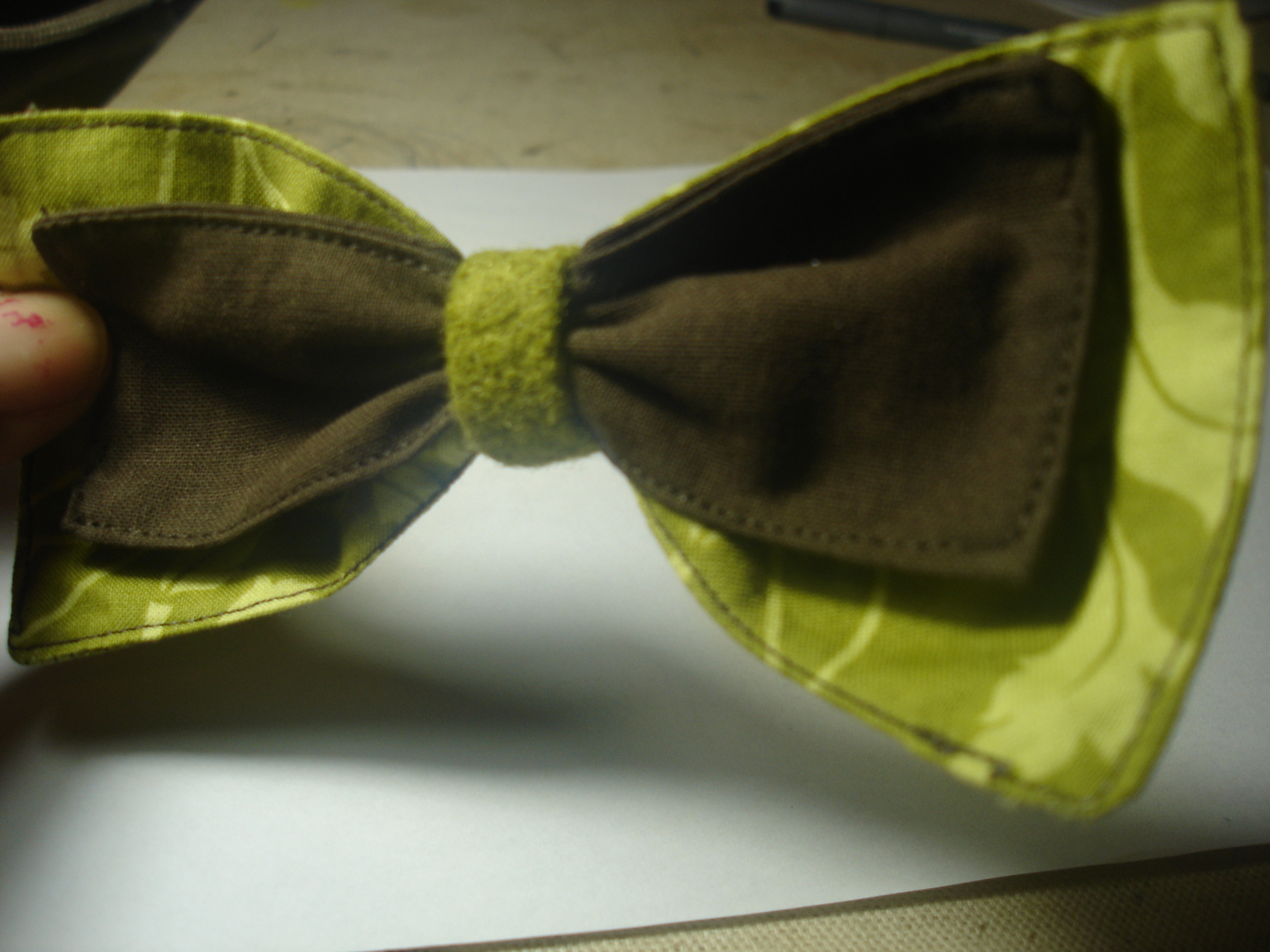 How To Make A Fabric Bow 17 Steps With Pictures Instructables
