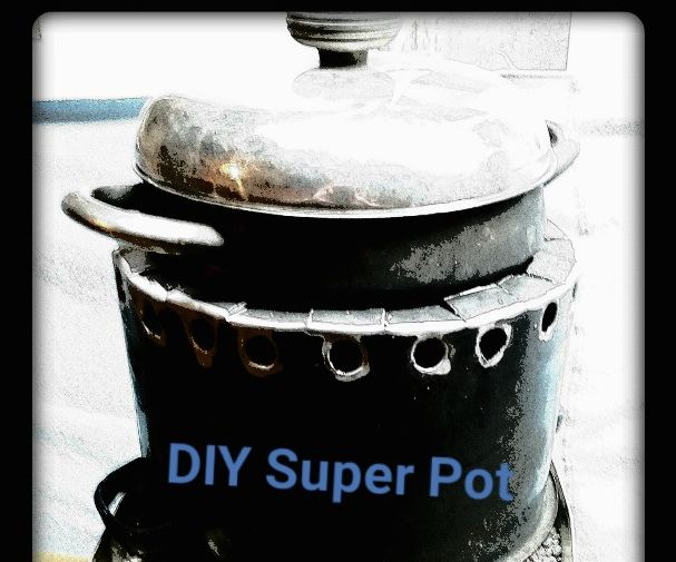 DIY Super Pot for Rocket Stoves