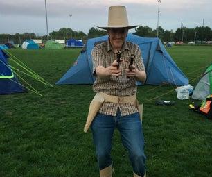 Cardboard Cowboy Costume