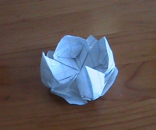 Origami Floating Lotus