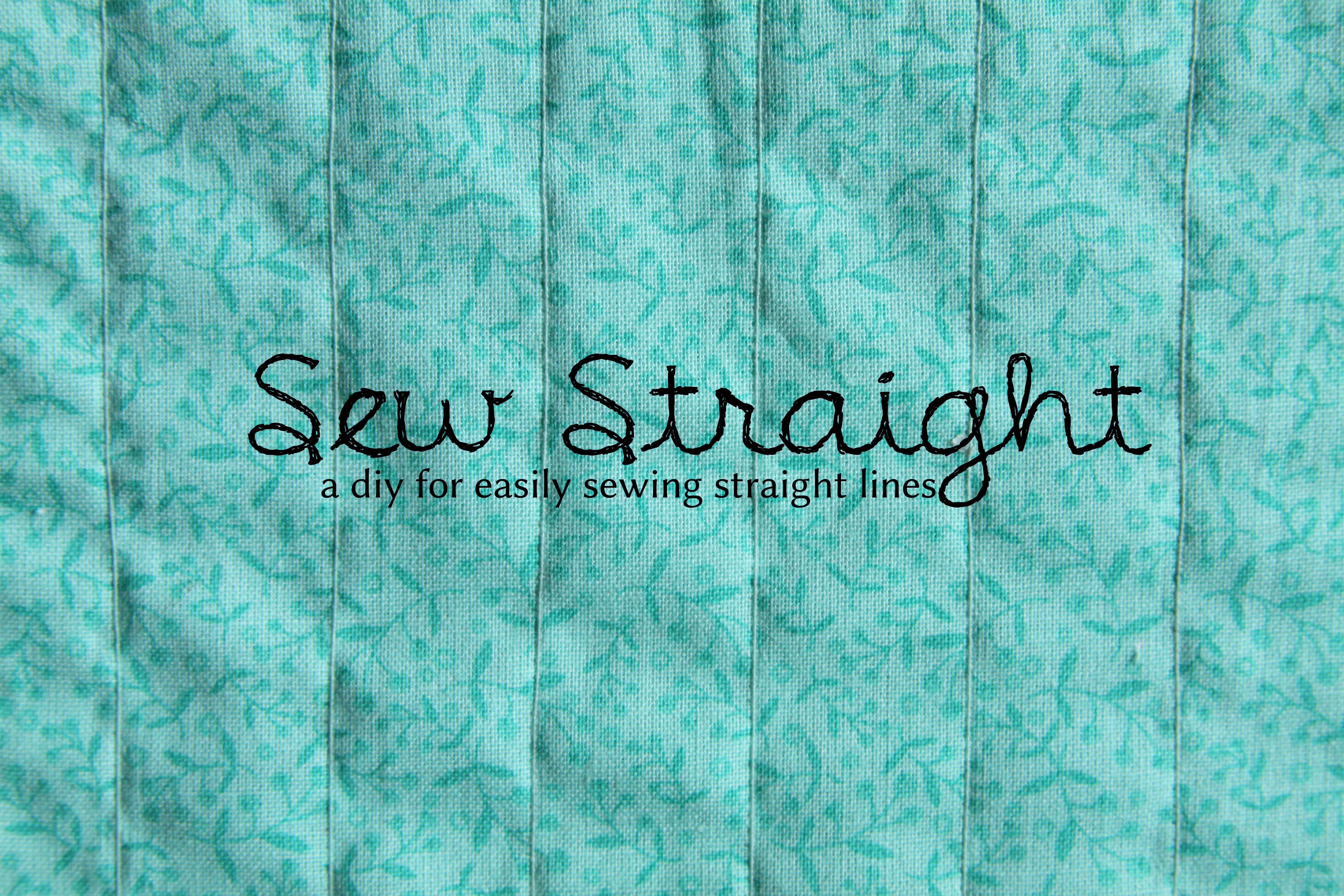 Sew Straight: DIY Uniform Lines