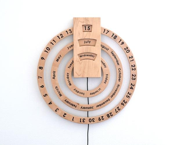 Automated Perpetual Calendar