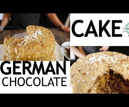 How to Make a German Chocolate Cake