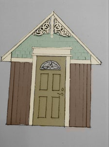 Development the Basic Design and the Location for the Country Garden Shed