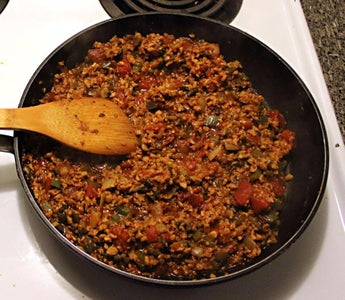 Simmer Ingredients Until Most Liquid Is Absorbed or Evaporated
