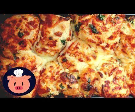 Pull-Apart Garlic Pizza Bread