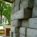 Concrete Brick Casting