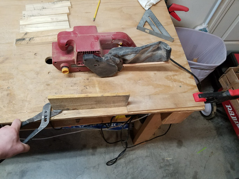 Sanding and Assembling