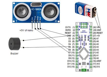 Making Sonar Circuit