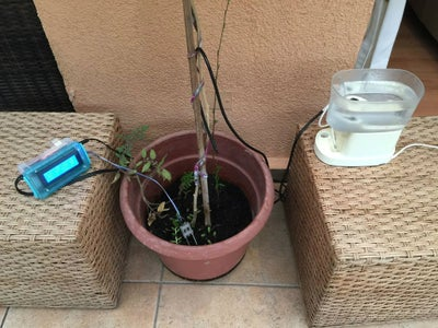 """""""Test Drive"""": Watering a Tomato Plant With ArduFarmBot"""