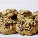 Chocolate and Peanut Drop Cookie