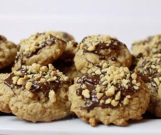 Chocolate and Peanut Drop Cookie