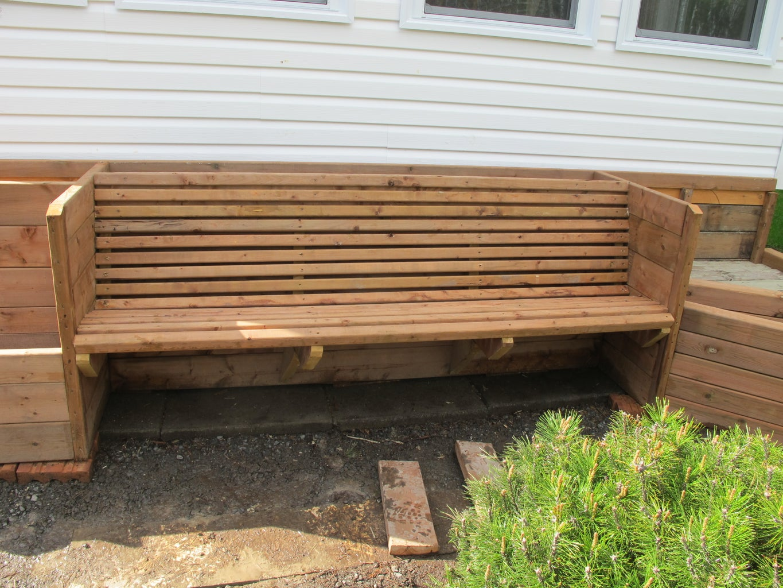 Bench (optional)