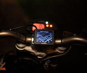 3D Printed GPS Motorcycle Mount