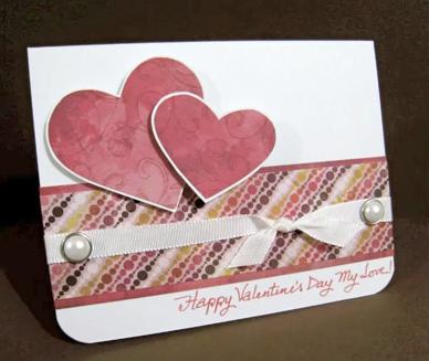 Handmade Card: Happy Valentine's Day, My Love!