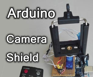 Arduino Remote Controlled Camera Mount – Ir Object Tracking Shield