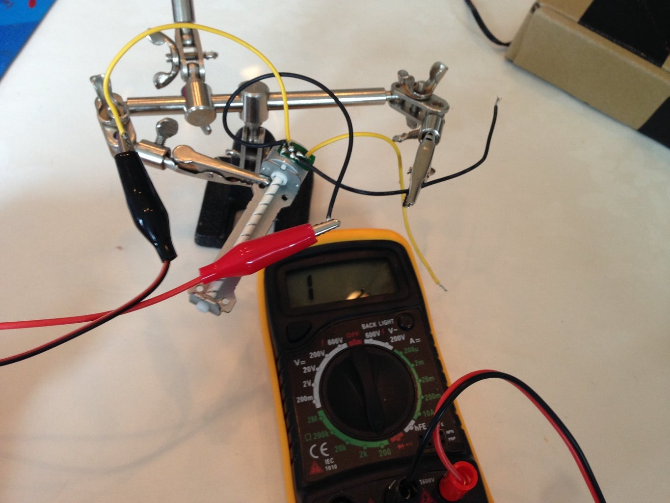 Stepper Motors: Soldering Wires and Figuring Out Pin Out.