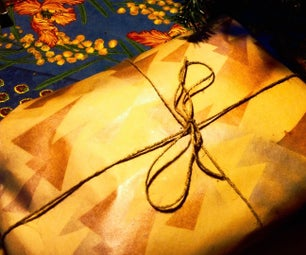 Wrapping Paper From Butcher's Paper