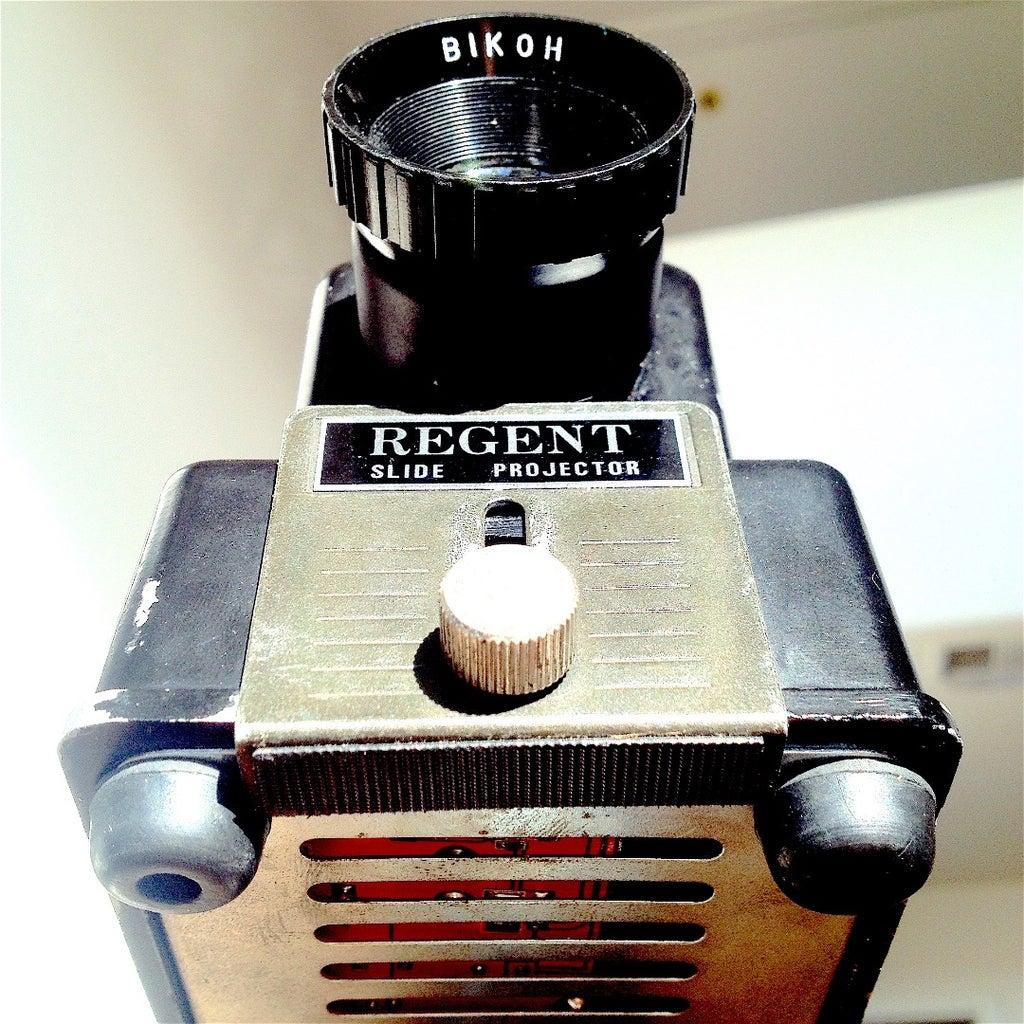 Vintage Pi Projector