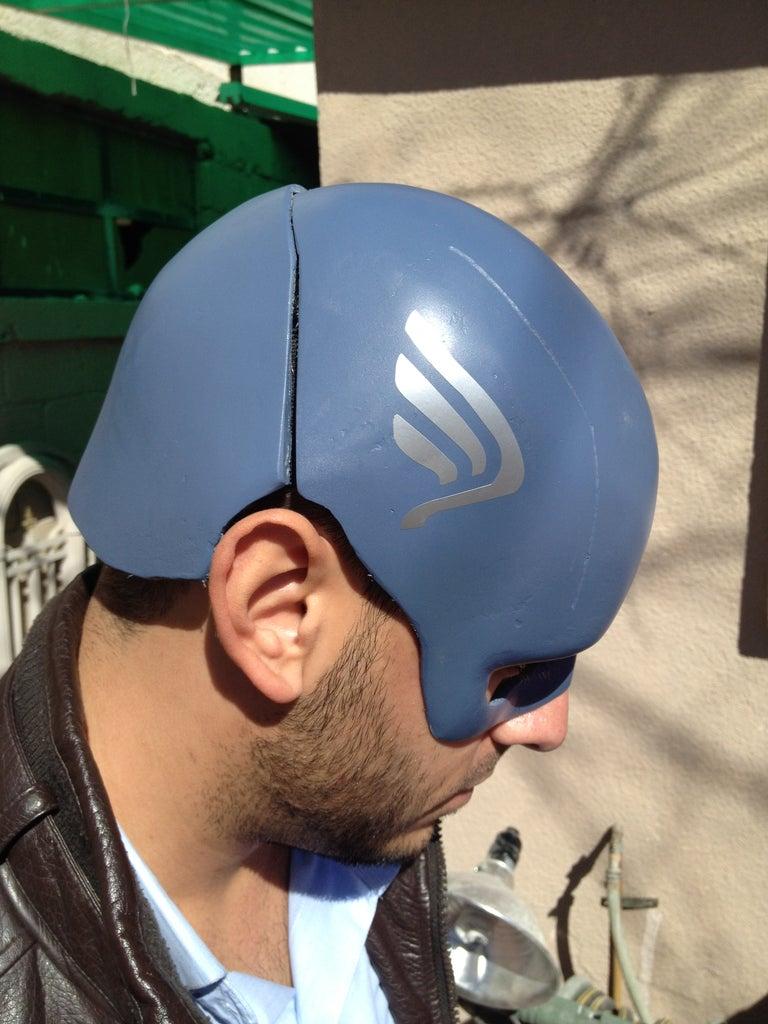 Captain America Shield and Helmet