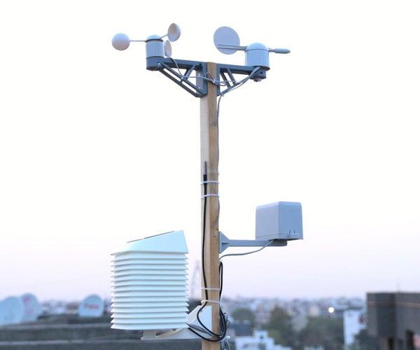 太阳能WiFi气象站V3.0