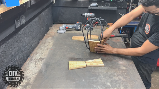 Combine the Wood Connection With the Iron