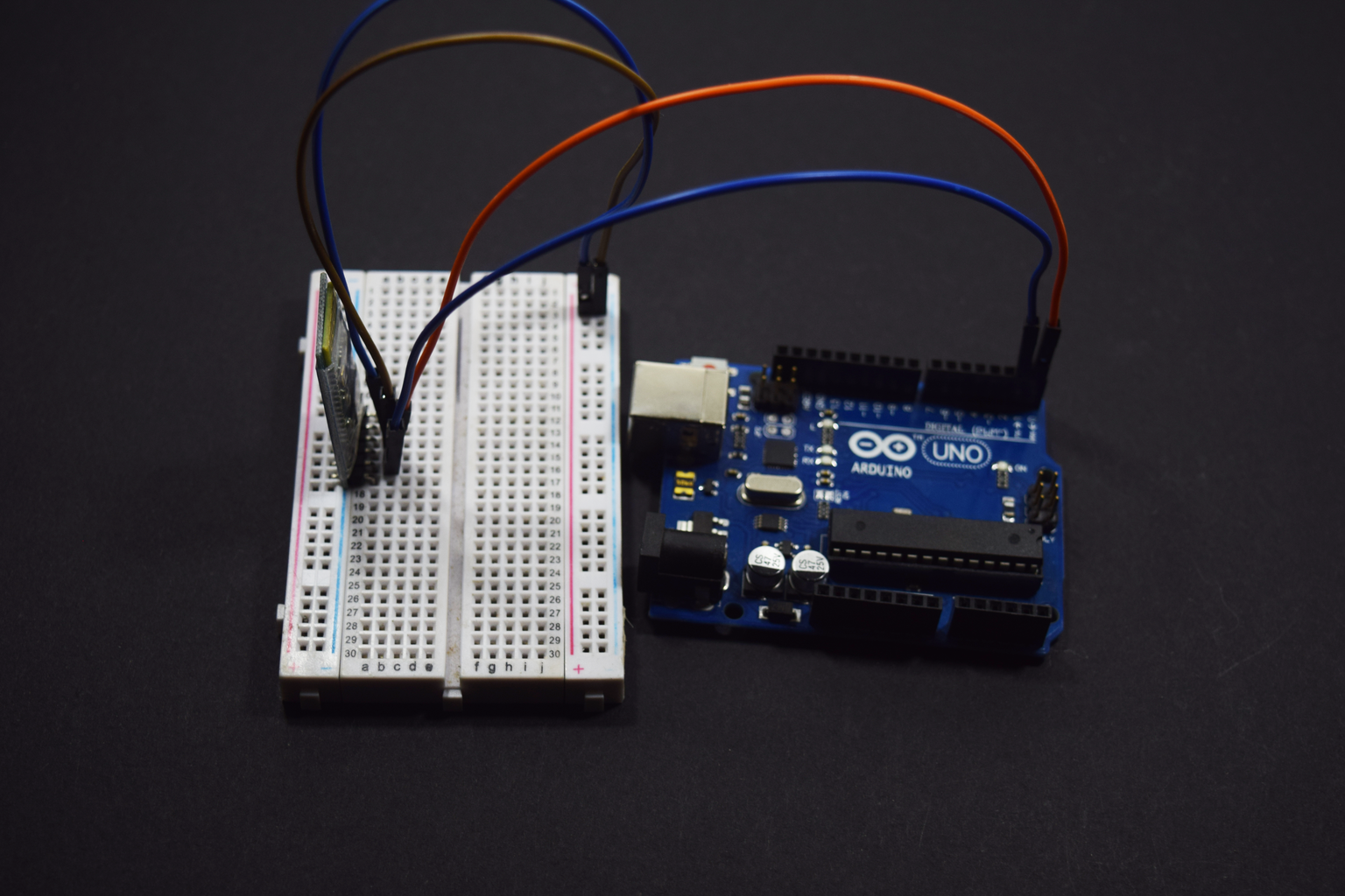 Bluetooth Module Connection: