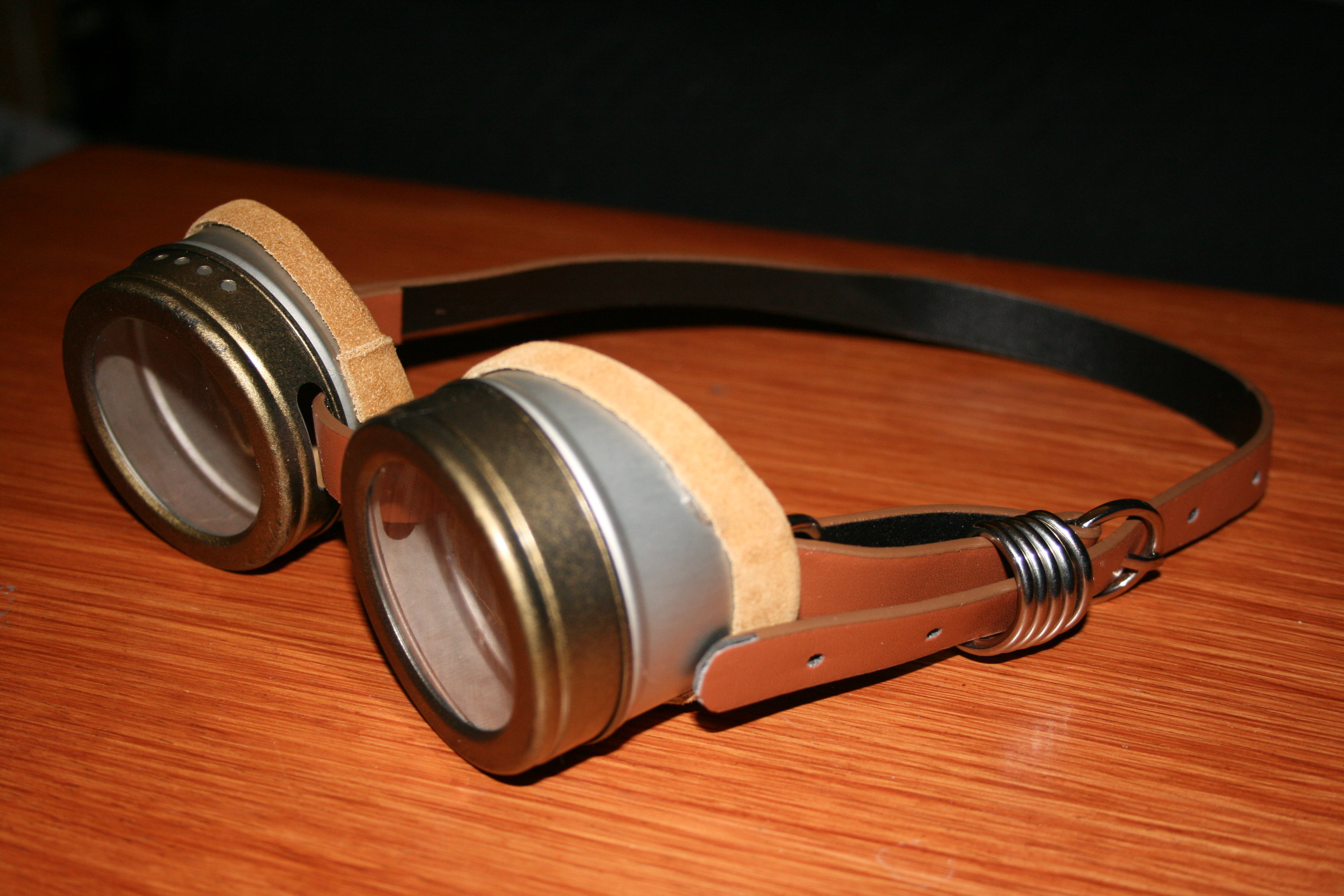 Upcycled Steampunk Goggles