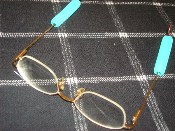 No Slip Eyeglass Wedgees on the Cheap