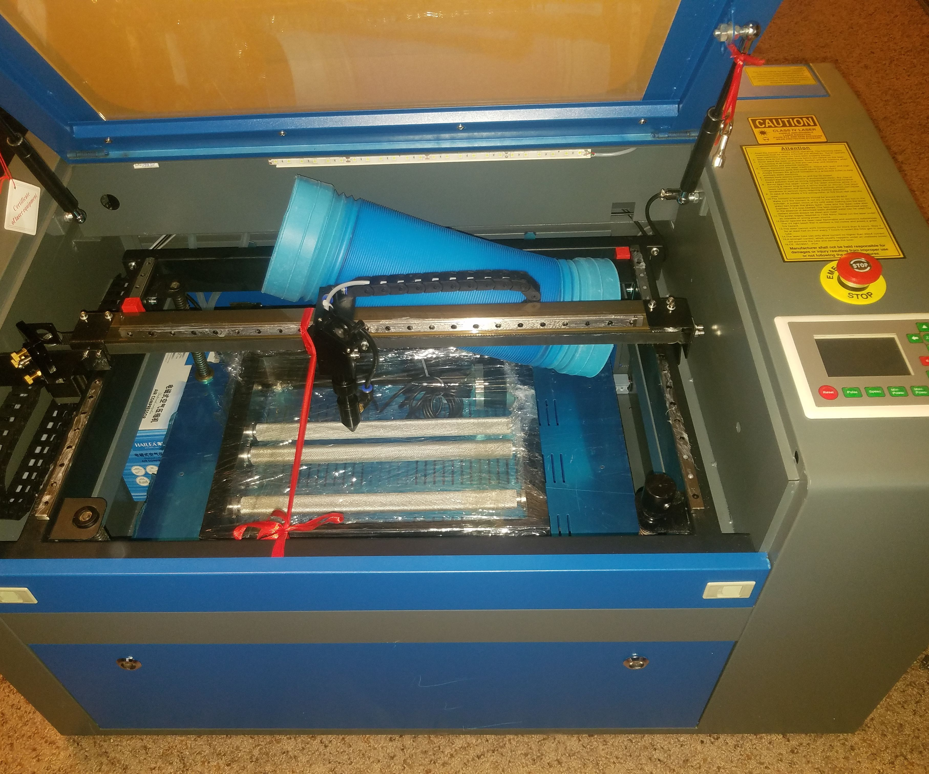 Getting Started With a Chinese Laser Cutter