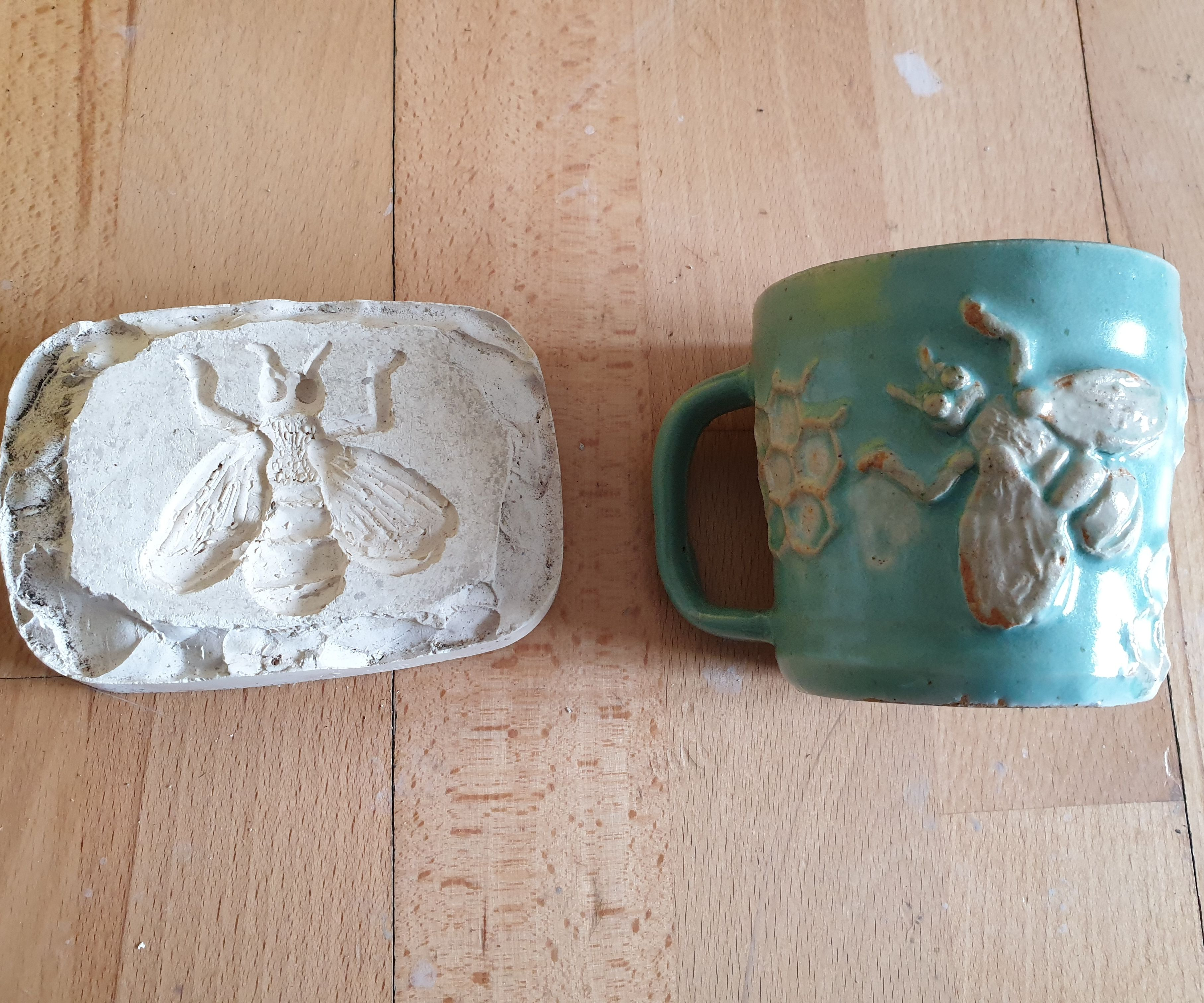 How to Make and Use 'sprigs' (low Relief Sculpture Moulds Used on Pottery)