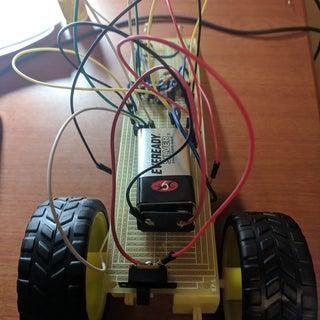 555 Timer Based Light Seeking Robot