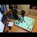 Chess Robot Raspberry Pi Lynxmotion AL5D Arm