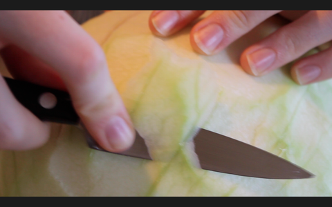 Cut the Base of the Watermelon