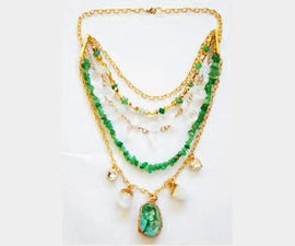 Bohemian-Chic Statement Necklace