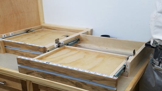 Adding a Locking System for Sliding Fence and Bolting Tools Down