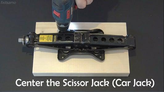 Step 2: Scissor Jack