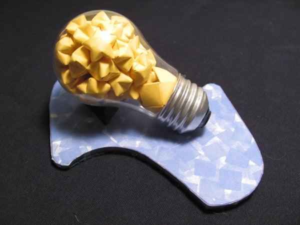 A Bright Idea With Origami Stars